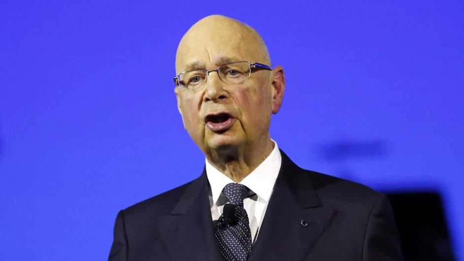 Zakladatel Světového ekonomického fóra Klaus Schwab