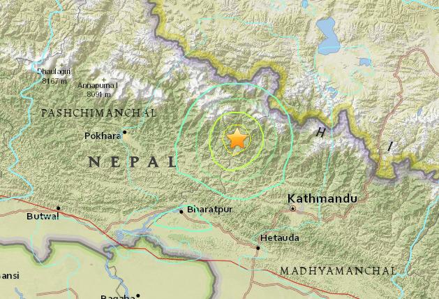 Zemětřesení v Nepálu 2015