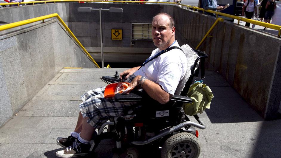 Vozíčkář, handicap - Ilustrační foto.