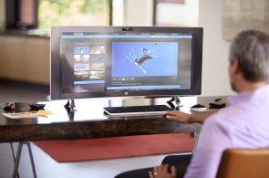HP vstupuje do nové éry se zakřiveným PC a novou generací HP Stream