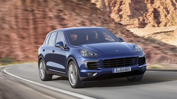 Volkswagen bude vyr�b�t v nov� hale Porsche Cayenne - Ilustra�n� foto.