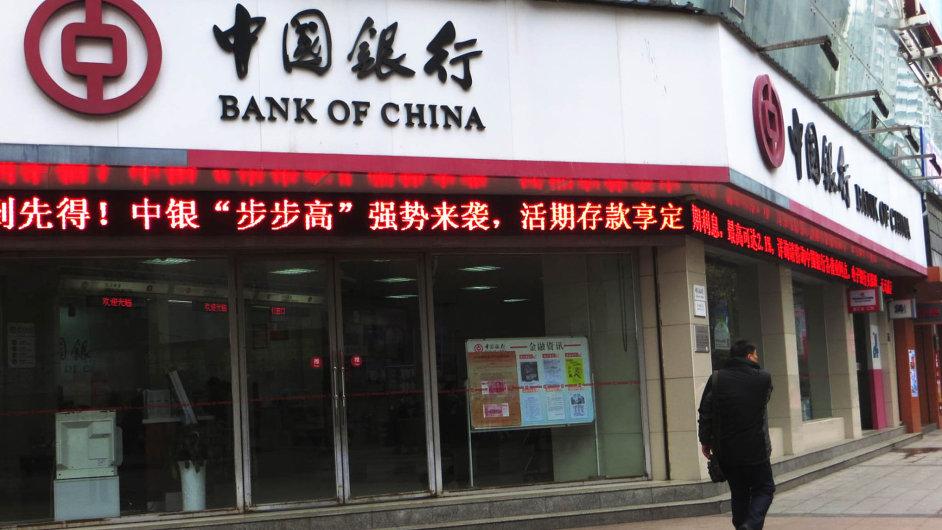 Číňané nakupují. Mezi akvizičními cíli mocné Bank of China v Evropě jsou i bankovní domy.