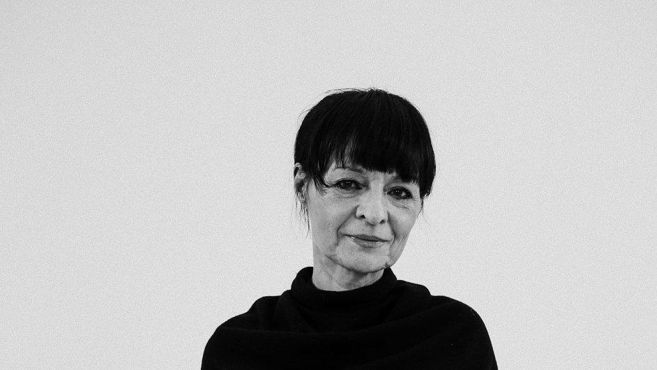 Liběna Rochová, vítězka v kategoriích Módní designér roku a Grand designér roku