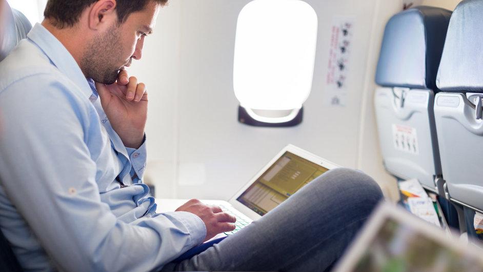 Honeywell nabídne vysokorychlostní internet pro letadla - Ilustrační foto.