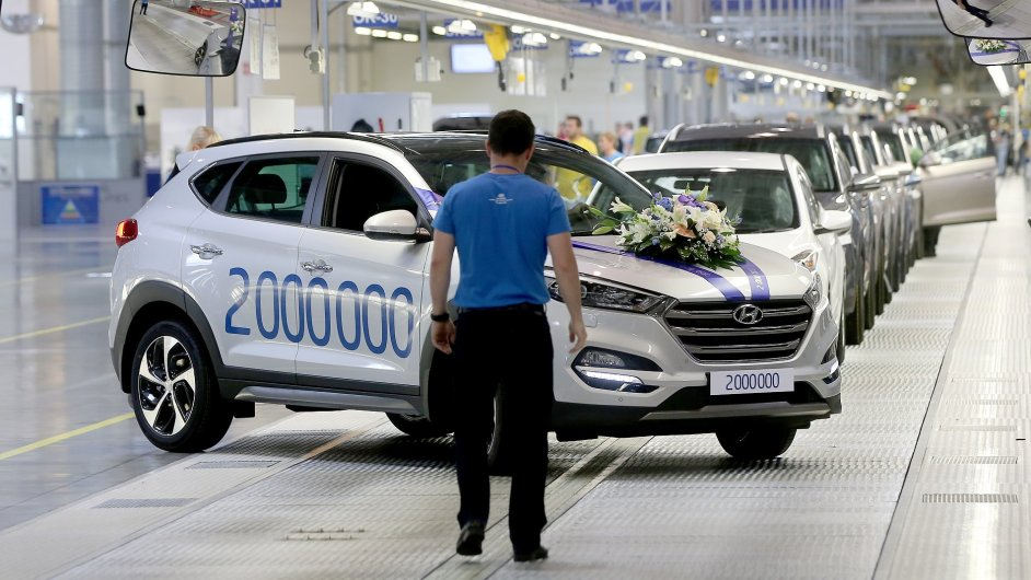 Automobilka Hyundai v Nošovicích vyrobila 2 000 000 vozů.