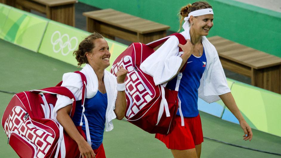 Šafářová Strýcová Rio 2016 bronz