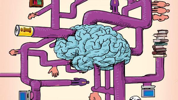 Řízení znalostí je specifická profese - ilustrace.