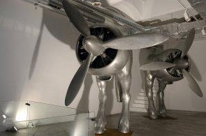 David Černý v Praze vystavuje díla z posledních let, k vidění jsou Zátopkovy nohy i pětimetrové plastiky
