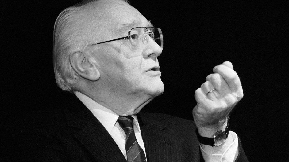 Skladatel Karel Husa na archivním snímku z roku 1991.