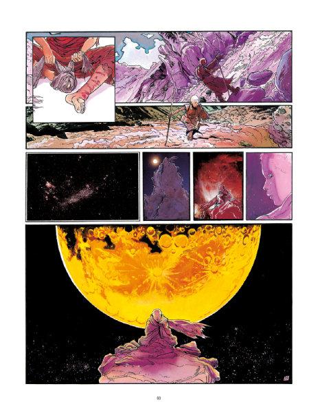 Ukázka z komiksu Bílý láma.