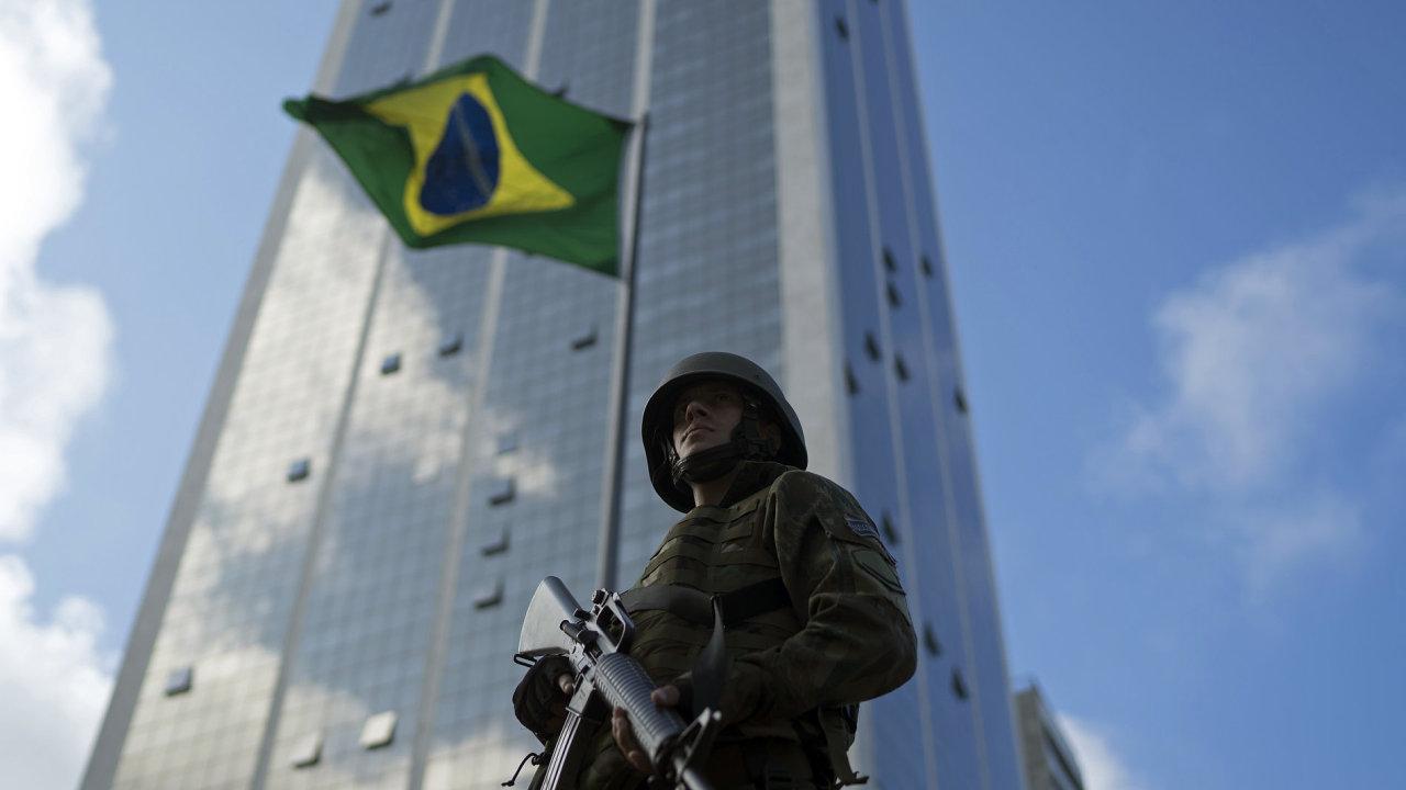 Brazílie před olympiádou posílila bezpečnostní opatření kvůli hrozbě teroristických útoků.