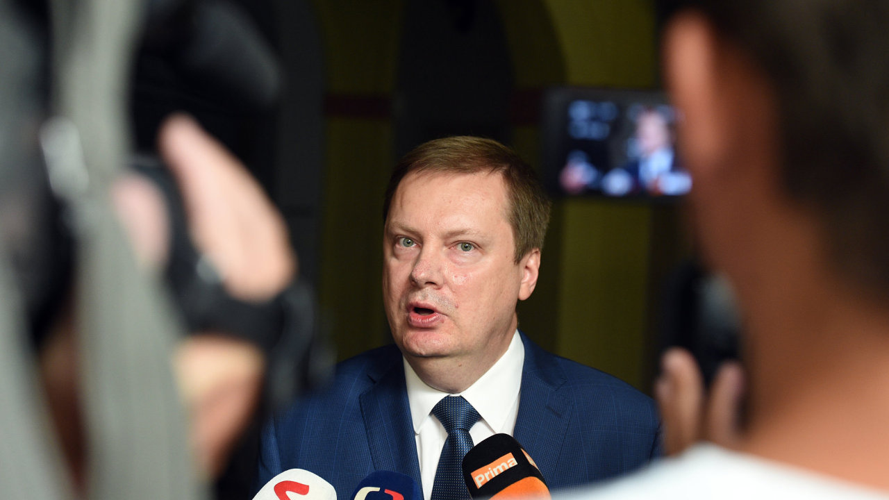 Místopředseda mandátového a imunitního výboru Martin Plíšek (TOP 09).