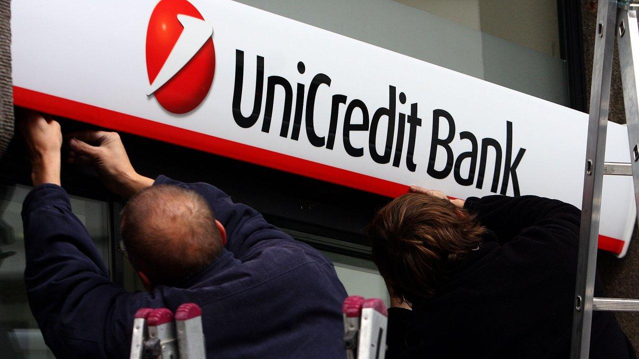 Internetové a mobilní bankovnictví UniCredit Bank se potýká s problémy.