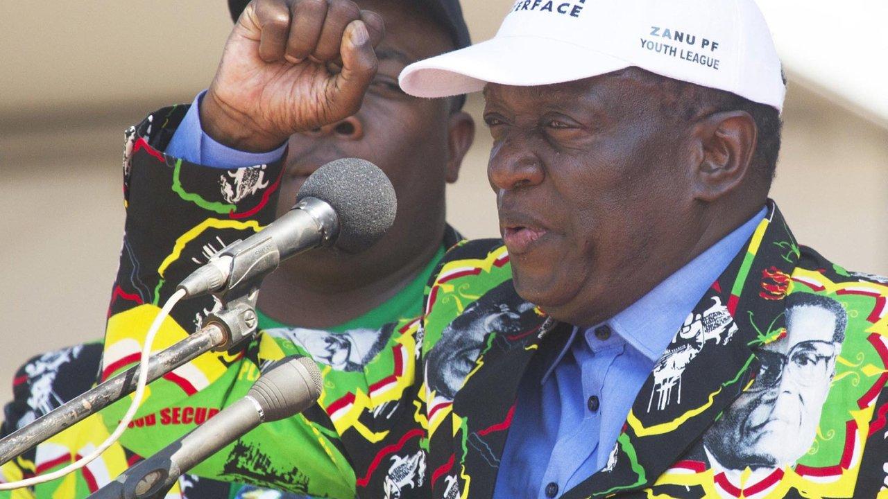 Novým prezidentem Zimbabwe se má v pátek stát bývalý viceprezident aněkdejší šéf tajné policie Emmerson Mnangagwa.