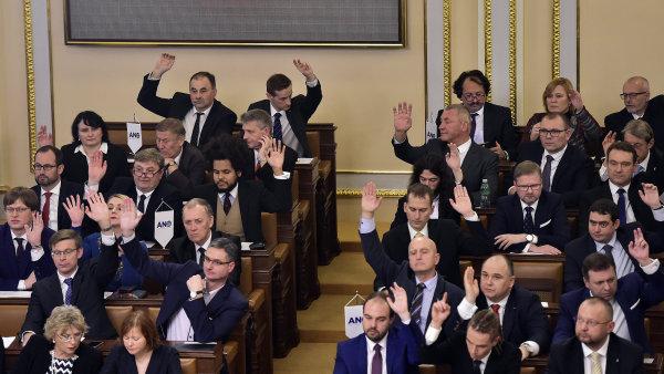Senátoři chtějí změnu systému voleb do sněmovny.