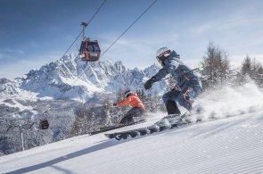 Pět lyžařských středisek za víkend: Jižní Tyrolsko nabízí lyžařské safari i michelinské gurmánské zážitky
