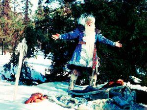 Alexandr Chvylja v roli Mrazíka ve stejnojmenné pohádce