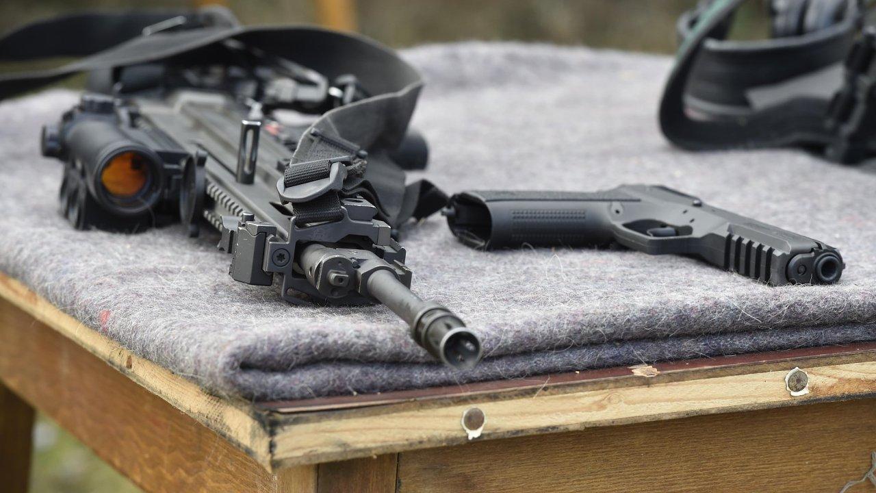 Útočná puška BREN - Ilustrační foto.