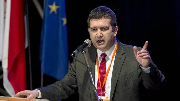 Nový šéf sociální demokracie Jan Hamáček.