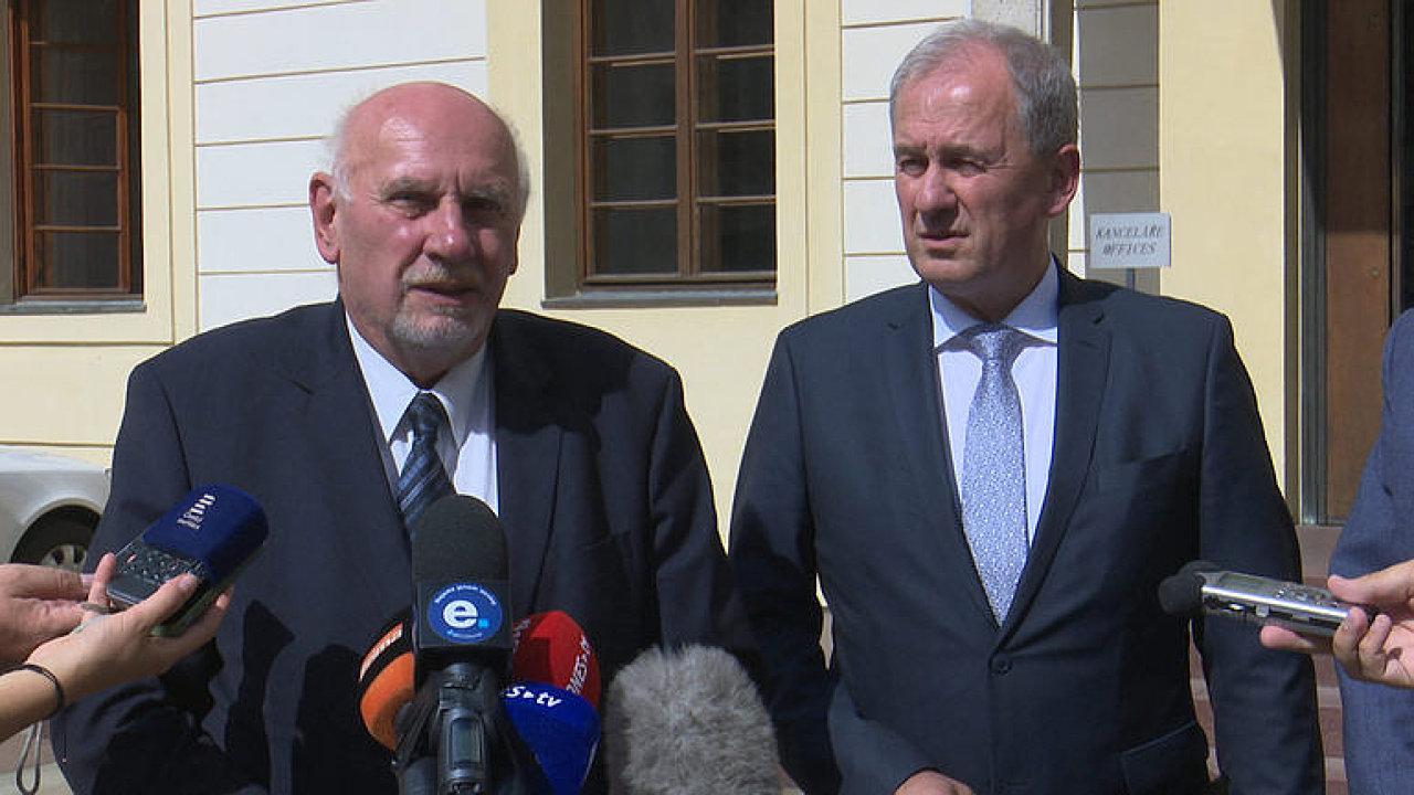 Rychetský: Miloš Zeman podporuje zřízení nejvyšší rady soudnictví