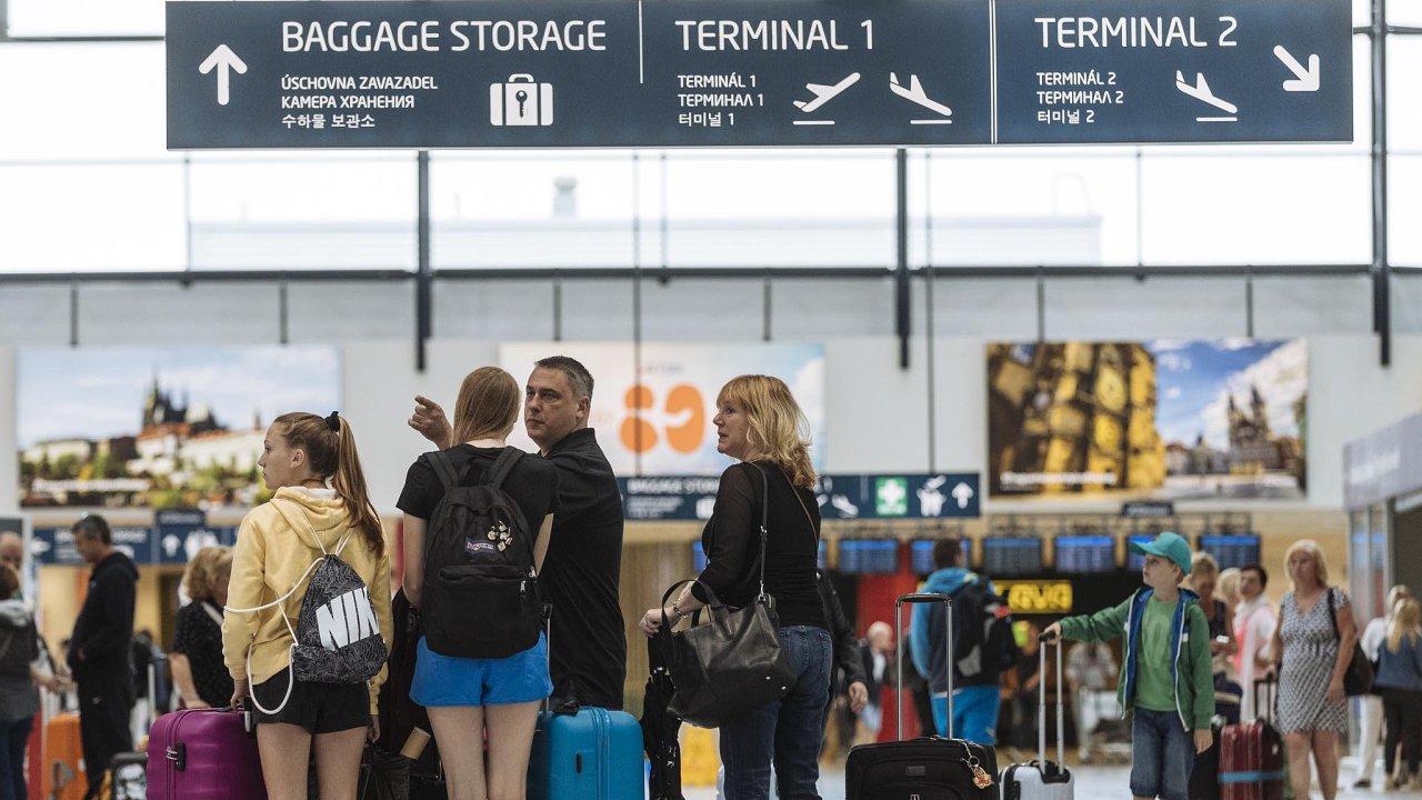 Letiště Václava Havla v Praze by mělo v roce 2025 odbavit ročně až 25 milionů cestujících.
