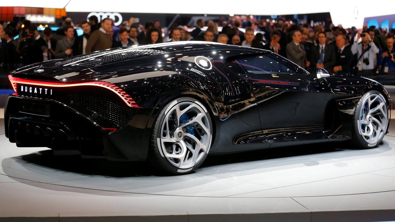 Bugatti La Voiture Noire je nejdražším vozem světa.