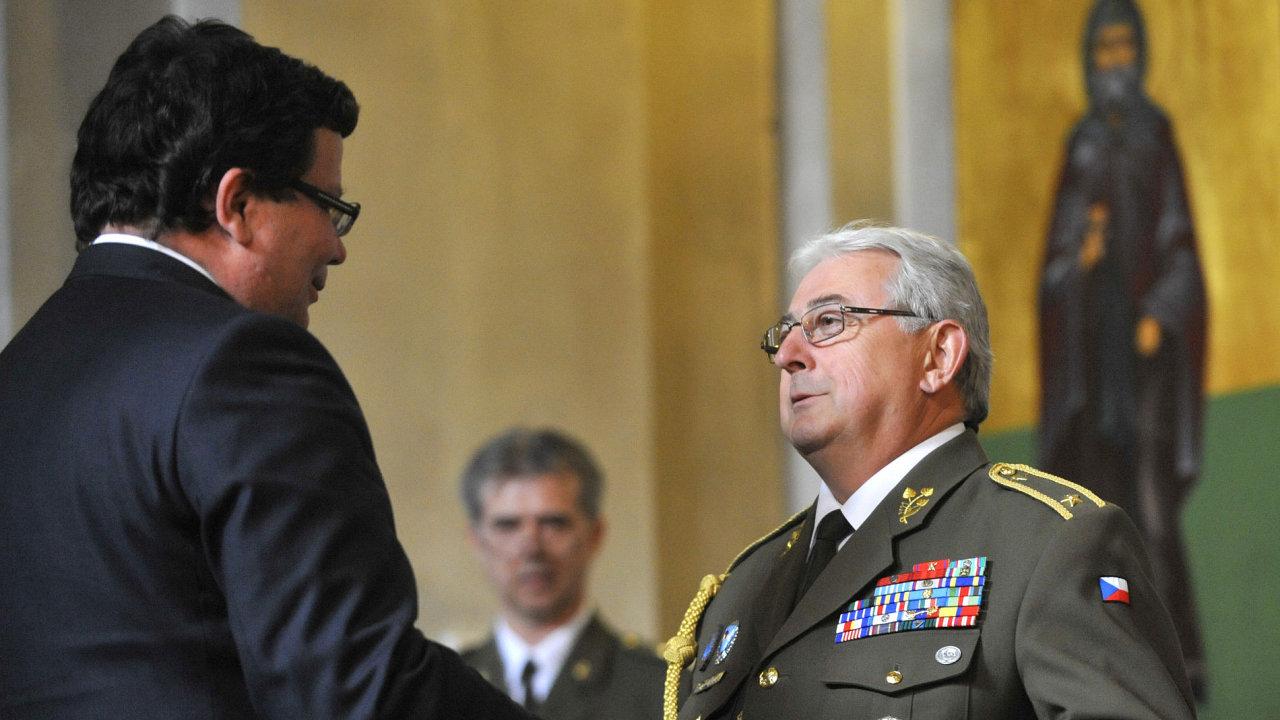 Brigádní generál ve výslužbě Karel Blahna