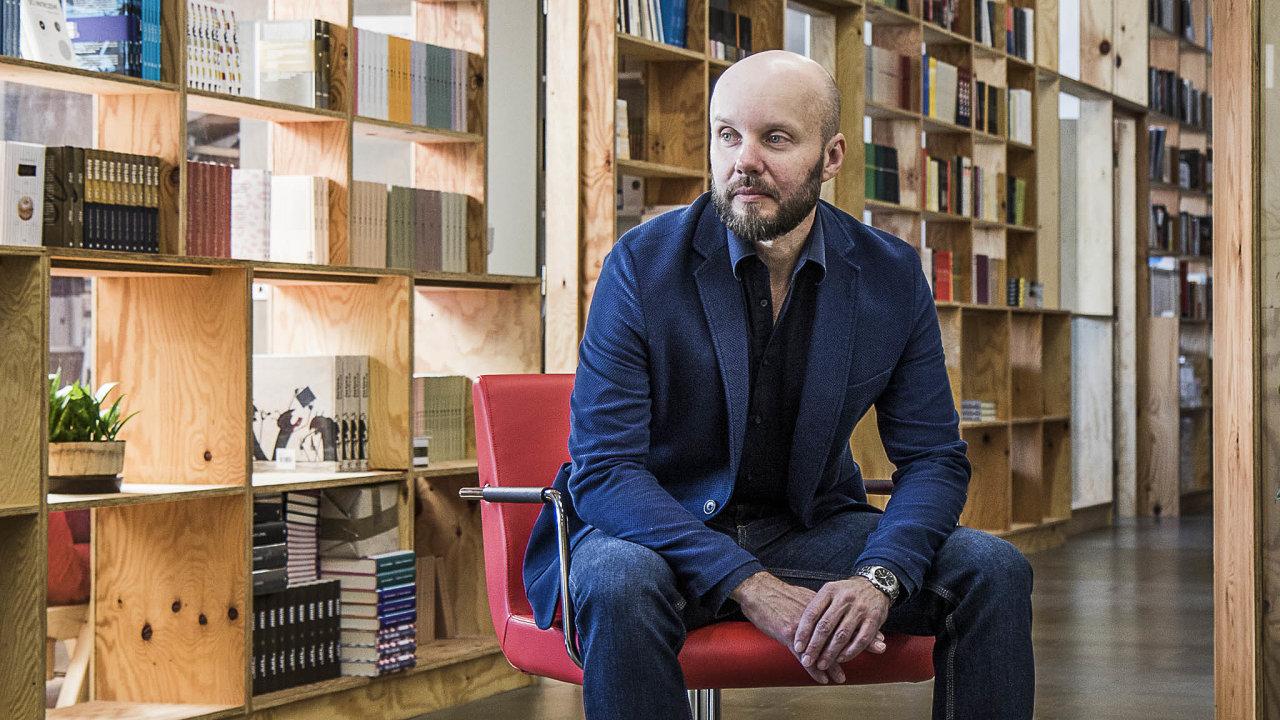 Šéfredaktor aspolumajitel nakladatelství Host Miroslav Balaštík