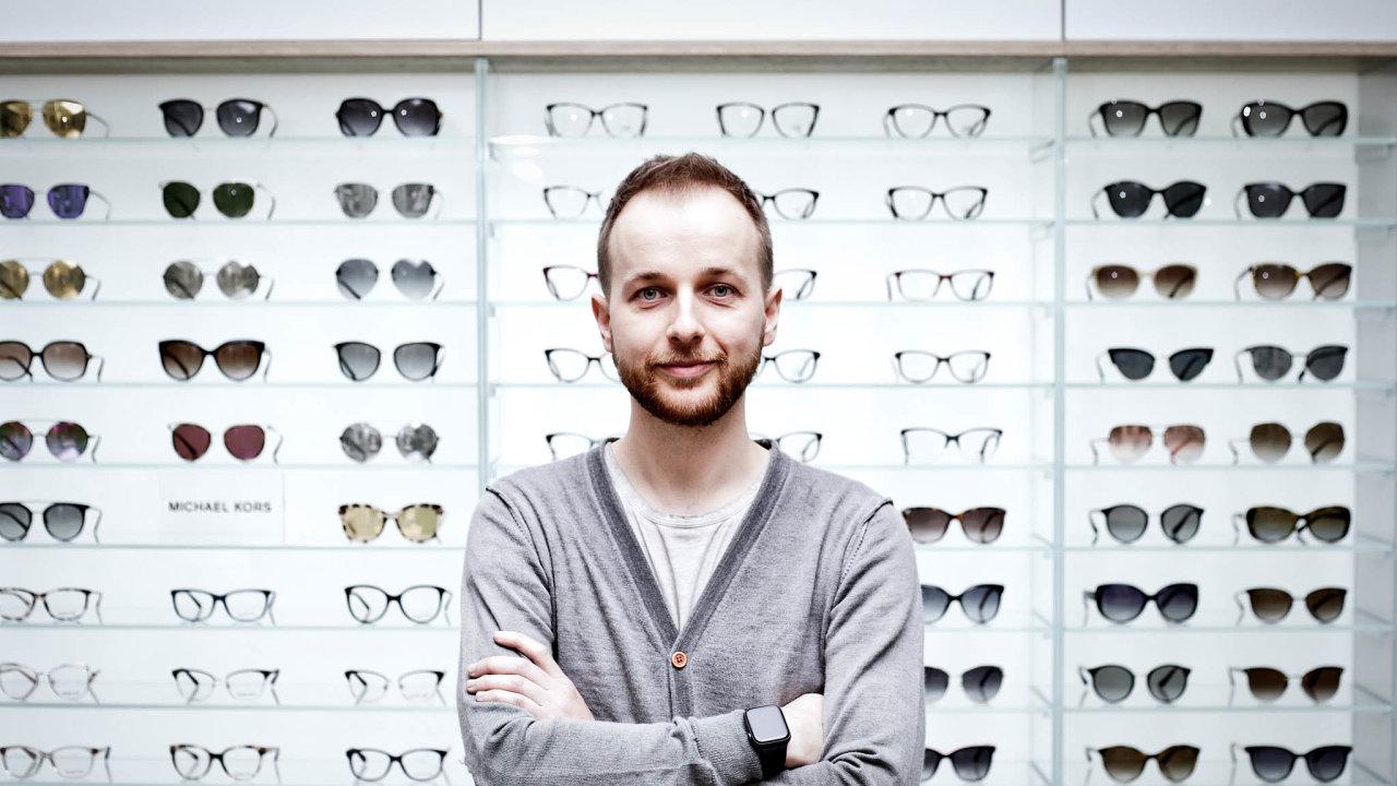 Šéf e-shopu VašeČočky Jiří Urban.