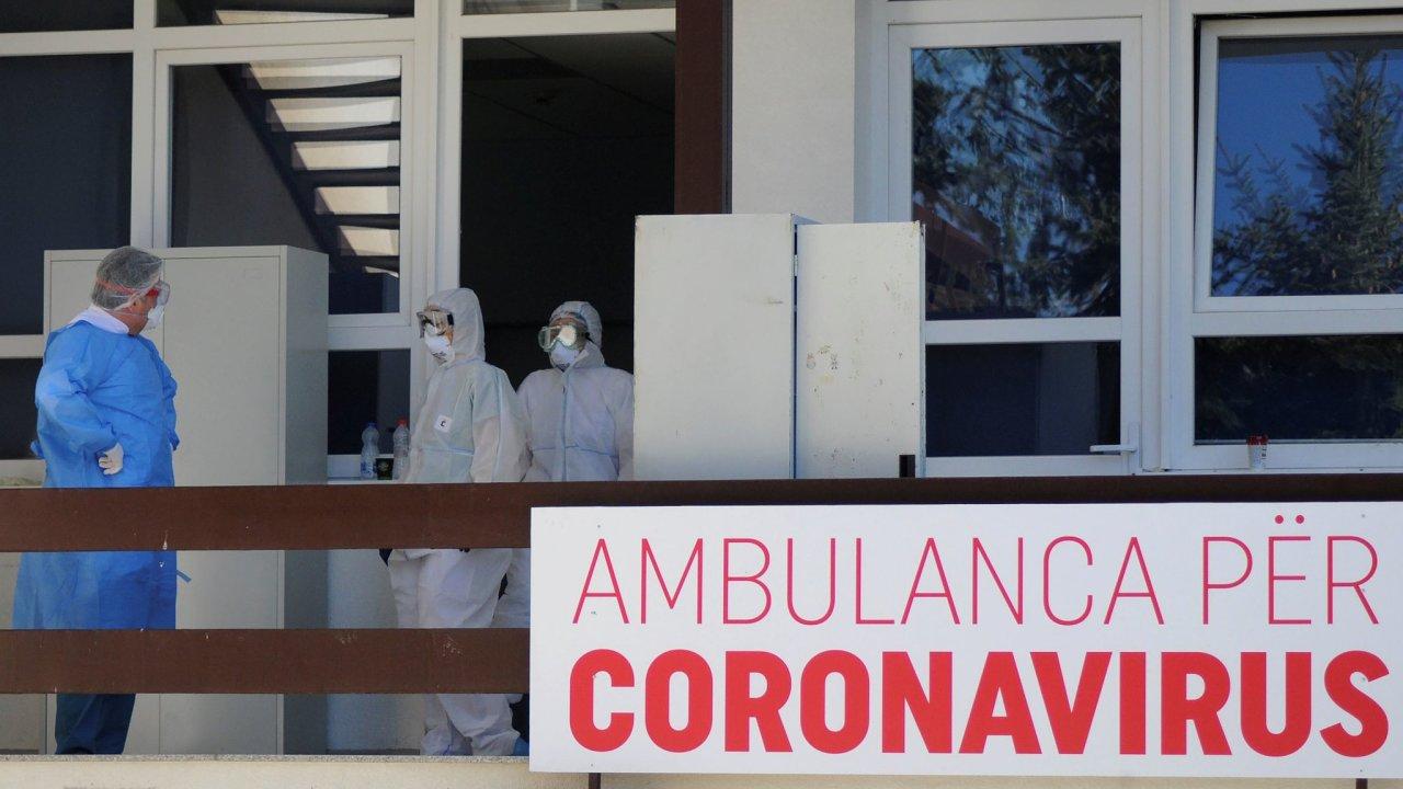 koronavirus ambulance Priština Kosovo