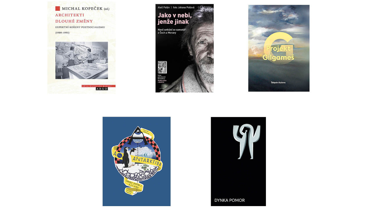 Nominované knihy na cenu Magnesia Litera