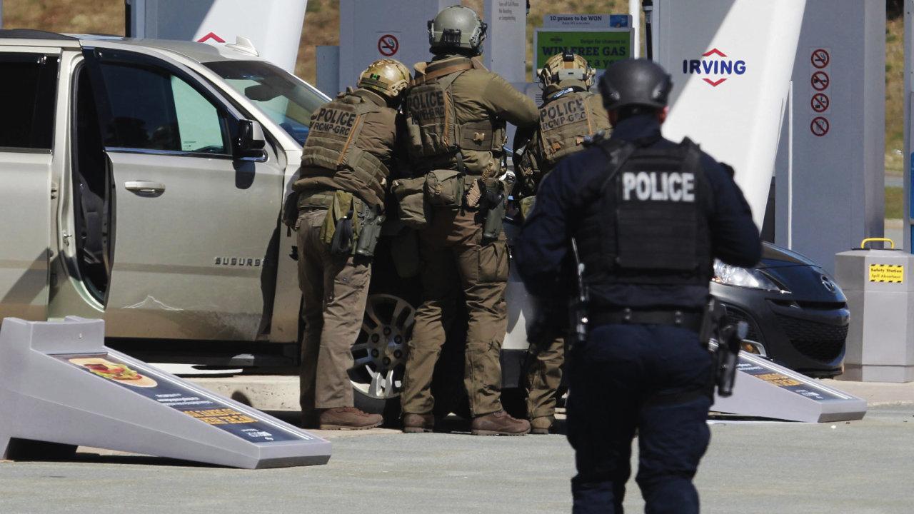 Kanadští policisté vraha zastřelili - Ilustrační foto.