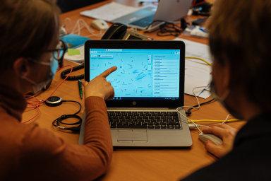 Vytváření vzpomínkové mapy pomocí takzvané chytré karantény.