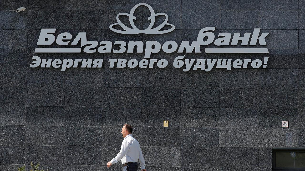 Banka vnemilosti. Energie tvé budoucnosti, hlásá slogan nabudově banky Belgazprombank. Poté, co nani byla uvalena nucená správa ašéf byl zatčen, se nezdá být její budoucnost příliš růžová.