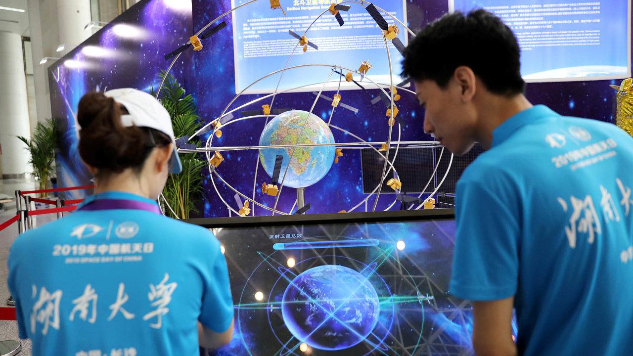 Navigace made in China. BeiDou je čínský výraz pro souhvězdí Velké medvědice. Země svůj satelitní systém postupně buduje už odroku 2000.
