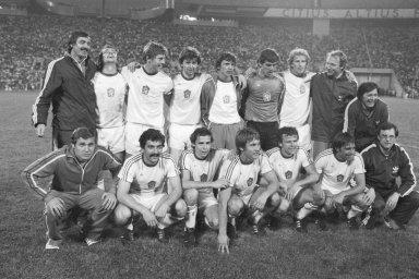 Zlato s pachutí doby: Fotbalisté Československa vyhráli turnaj na hrách v Moskvě 1980. Ve finále porazili předchozí vítěze z NDR. Kvůli bojkotu her ze strany západních zemí ale jejich úspěch zapadl.