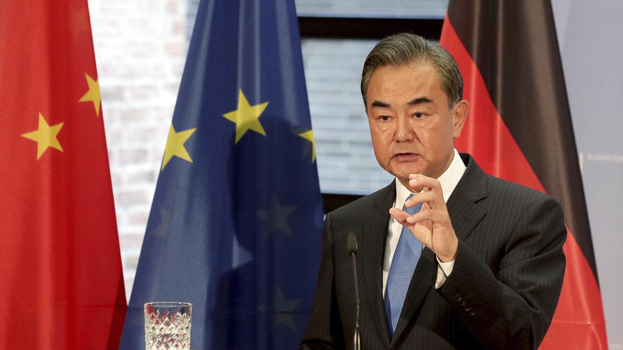 Čínský ministr zahraničí Wang I.