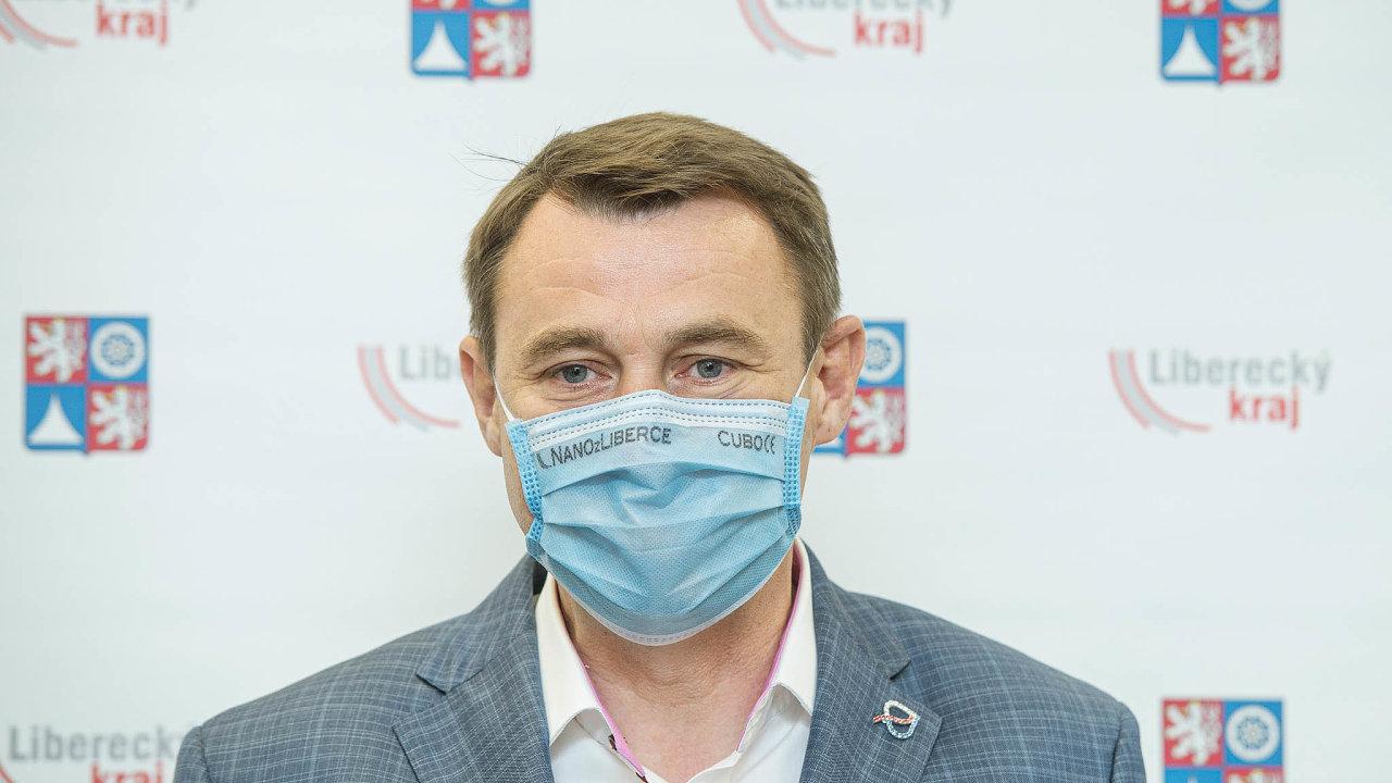 Liberecký hejtman Martin Půta (Starostové proLiberecký kraj) stane už potřetí včele kraje.