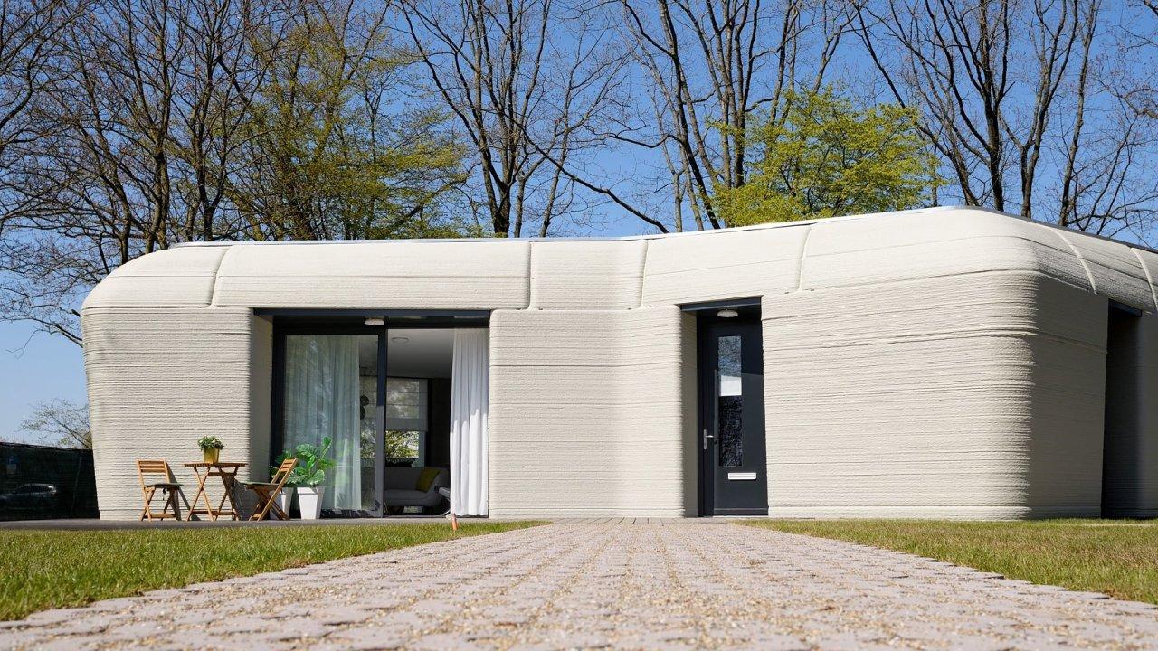 Dům vytištěný z betonu prošel standardní kolaudací