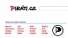 Hlavn� str�nka webu Pir�tsk� strany kop�ruje design Seznamu
