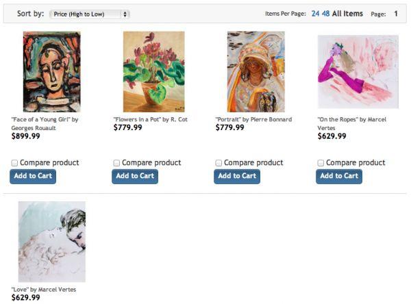 Costco prodává umění. Stačí hodit do nákupního košíku a originál francouzského expresionisty Rouaulta je váš.