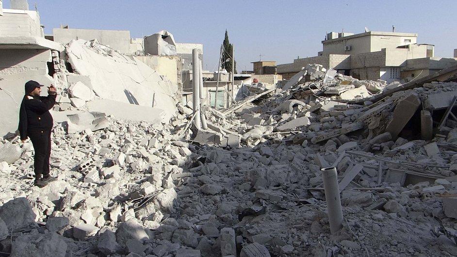 Sýrie. Ilustrační foto