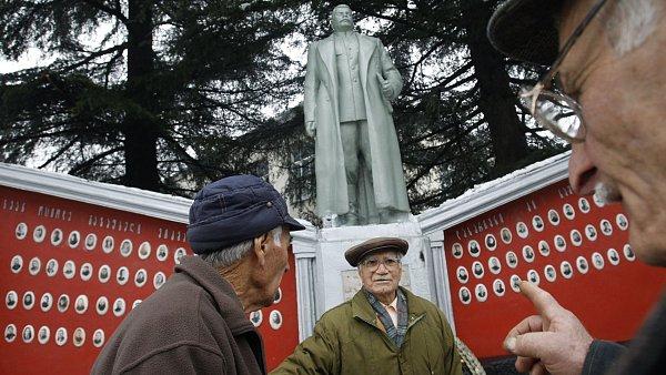 Nová Stalinova socha v Gruzii