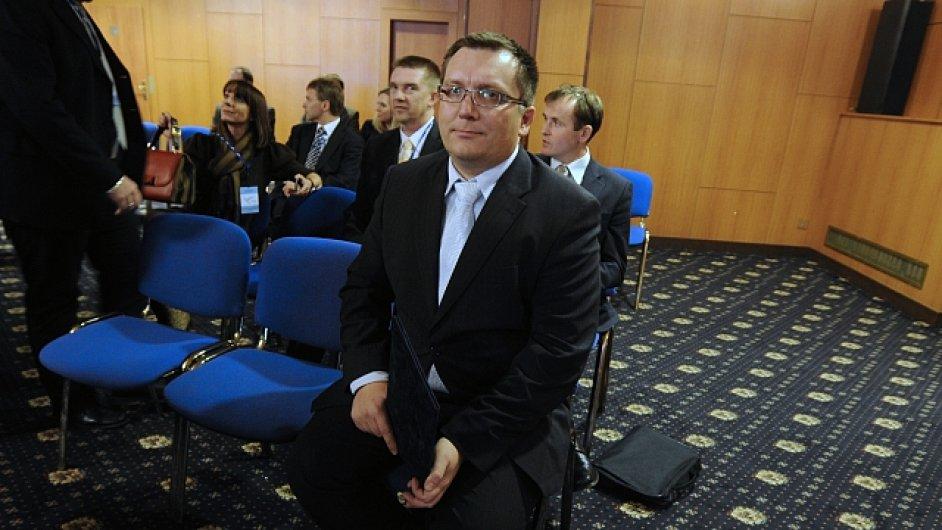 Bývalý poslanec Jiří Janeček