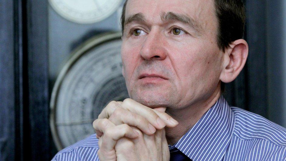 Tomáš Machanec, ředitel odboru sociálního pojištění na Ministerstvu práce a sociálních věcí.