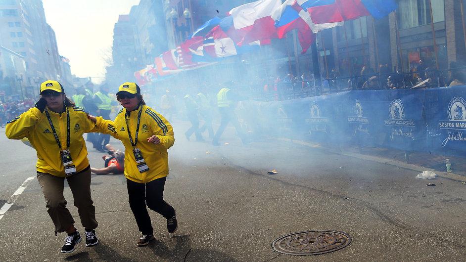 Výbuchy v Bostonu
