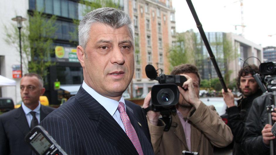 Kosovský premiér Hashim Thaçi