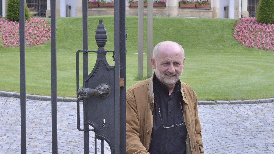 Bývalý ředitel České televize Jiří Balvín