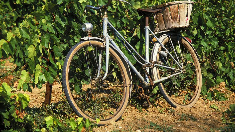 Vyražte třeba na kole mezi vinohrady