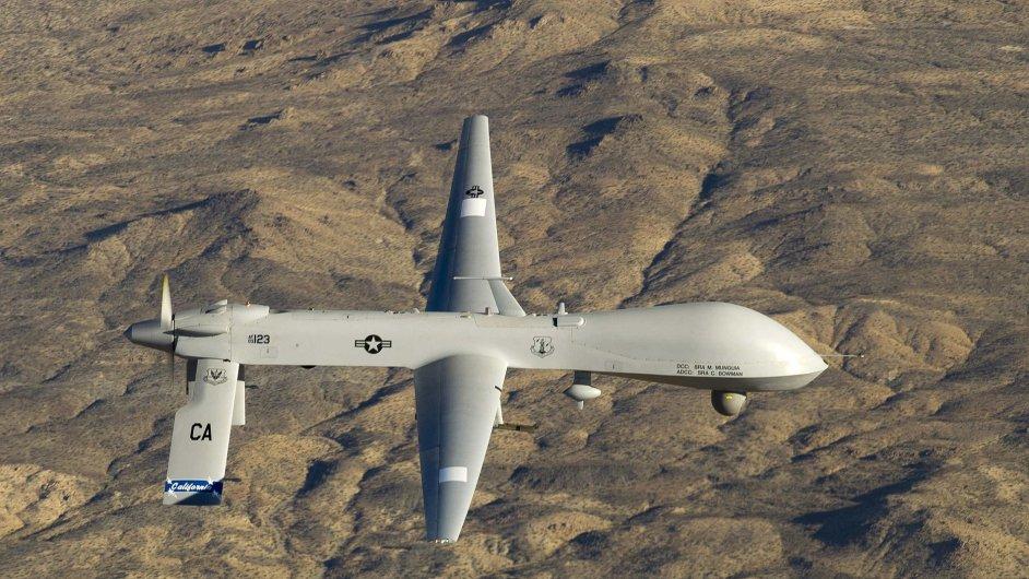 Americký bezpilotní letoun MQ-1 Predator, ilustrační foto